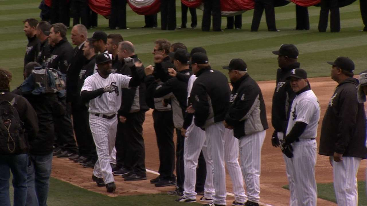 White Sox introduce lineup