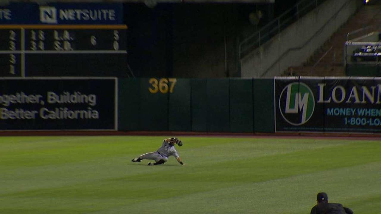 Eaton's tremendous catch