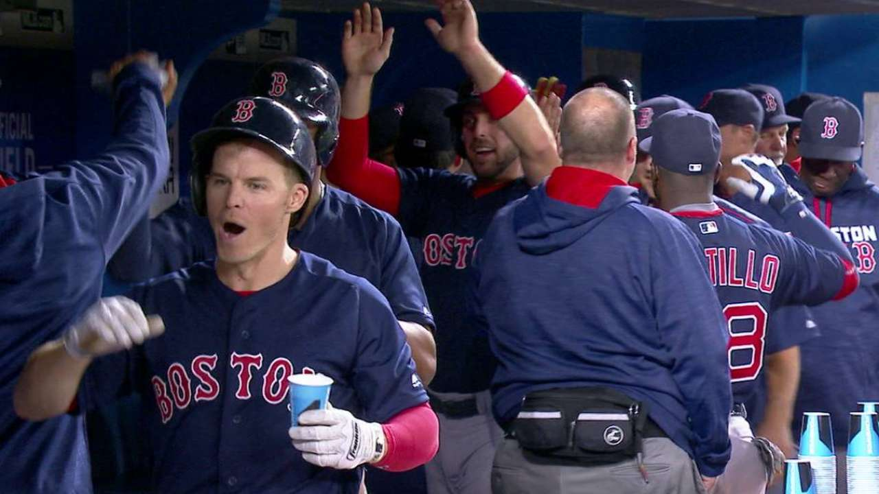 Red Sox offense gets jolt with slam from Holt