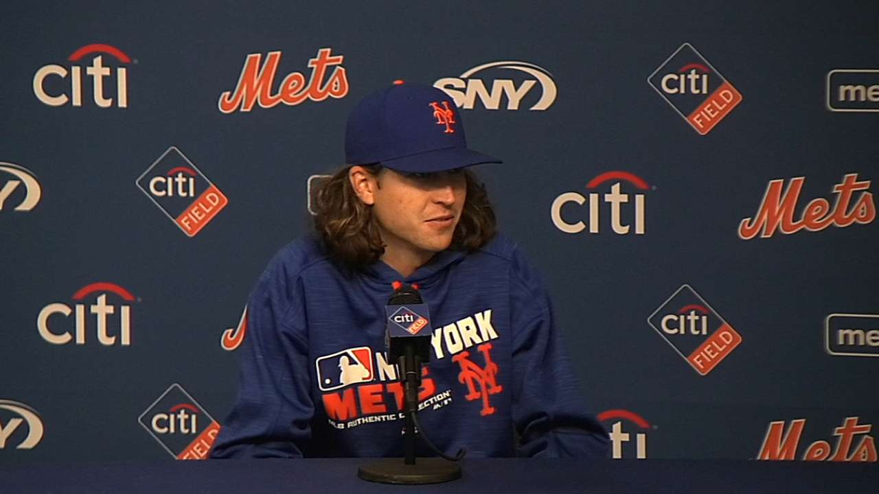 Wright, deGrom on win, health