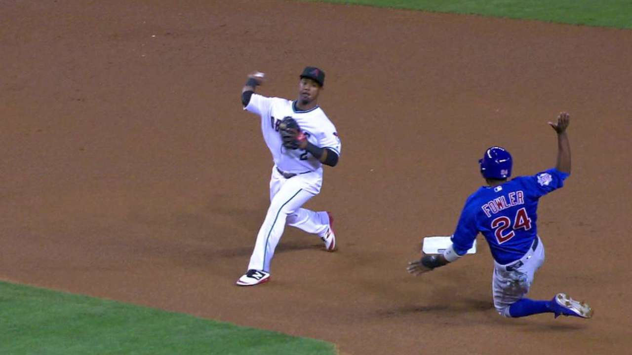 Ray's double play pitch