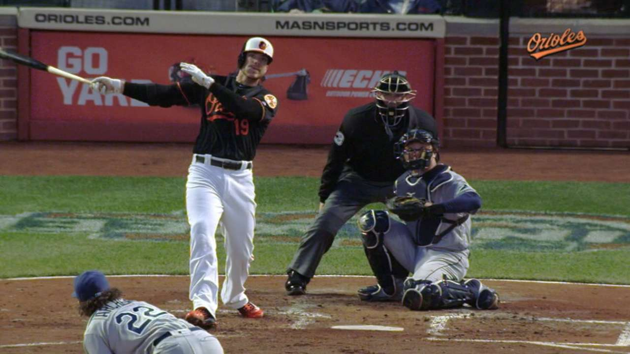 Four homers off Archer lead O's over Rays