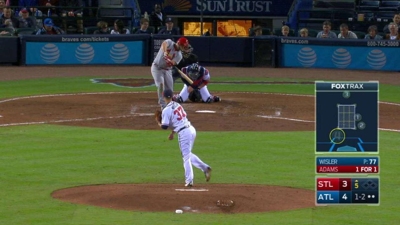 'Big mistake' haunts Wisler, Braves