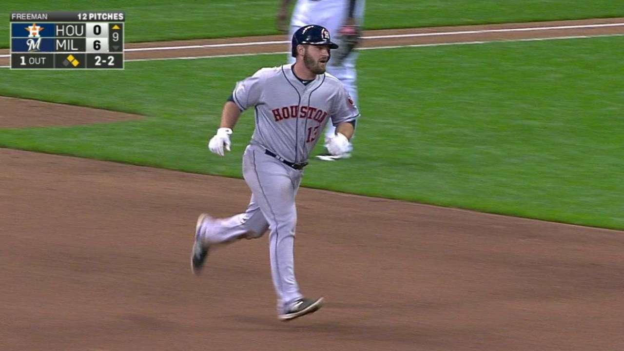 White's three-run homer