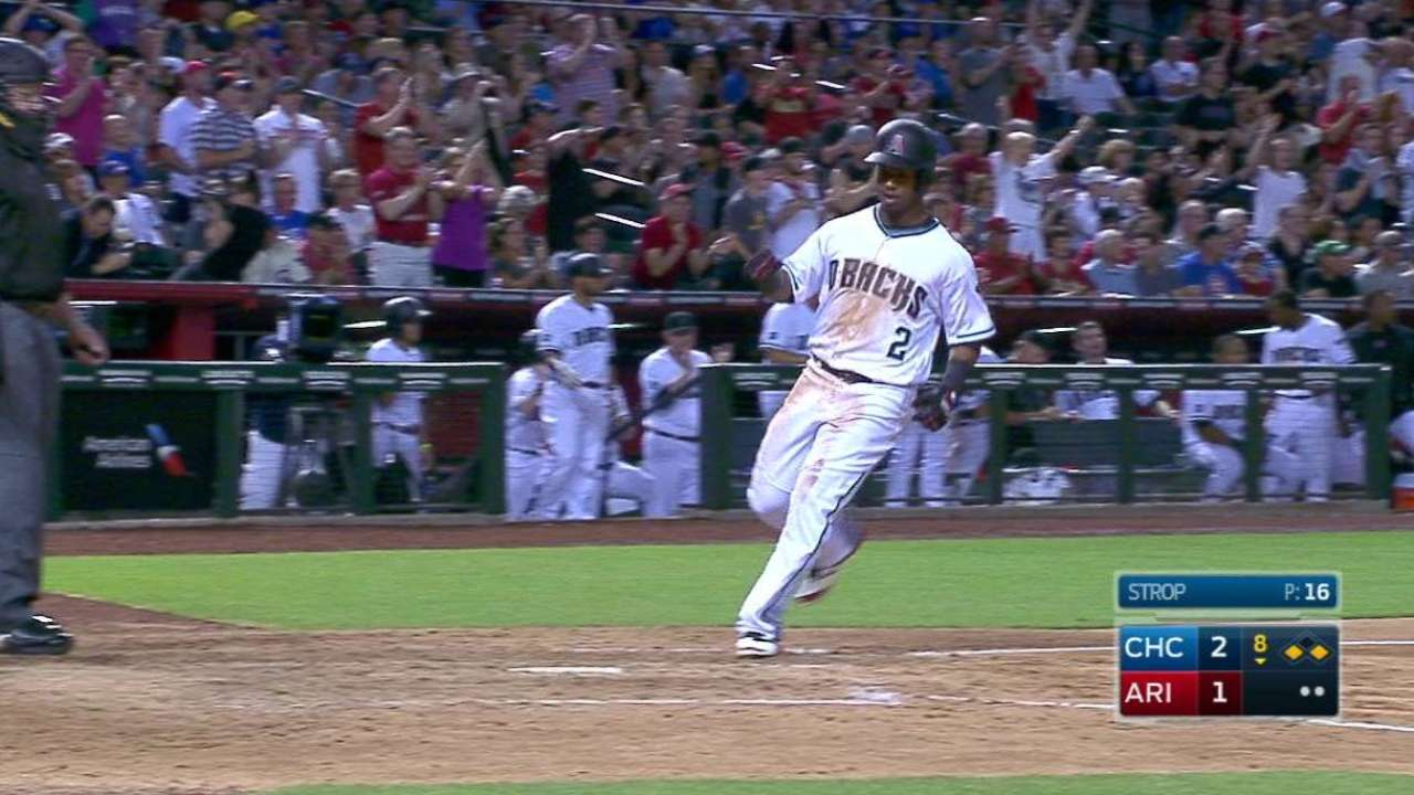 Goldy's RBI ties game