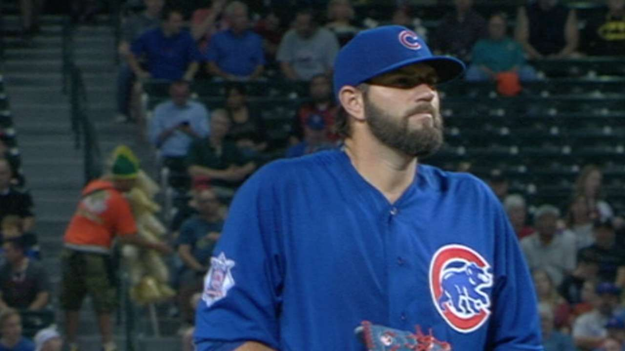 Hammel will miss working with batterymate