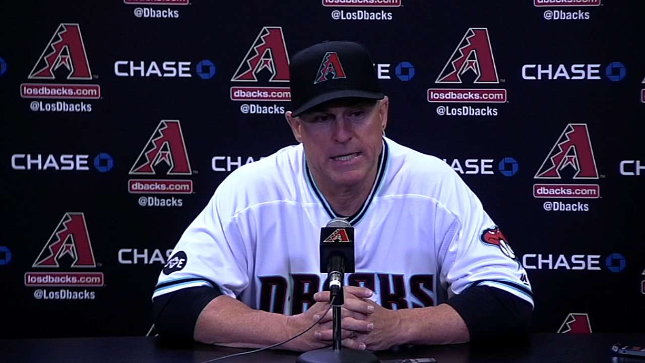Hale revels in D-backs' compete level