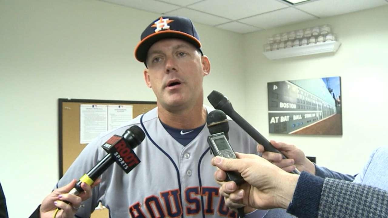 Hinch on Astros' 6-4 loss