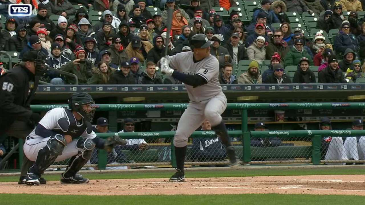 Slumping A-Rod sits series opener