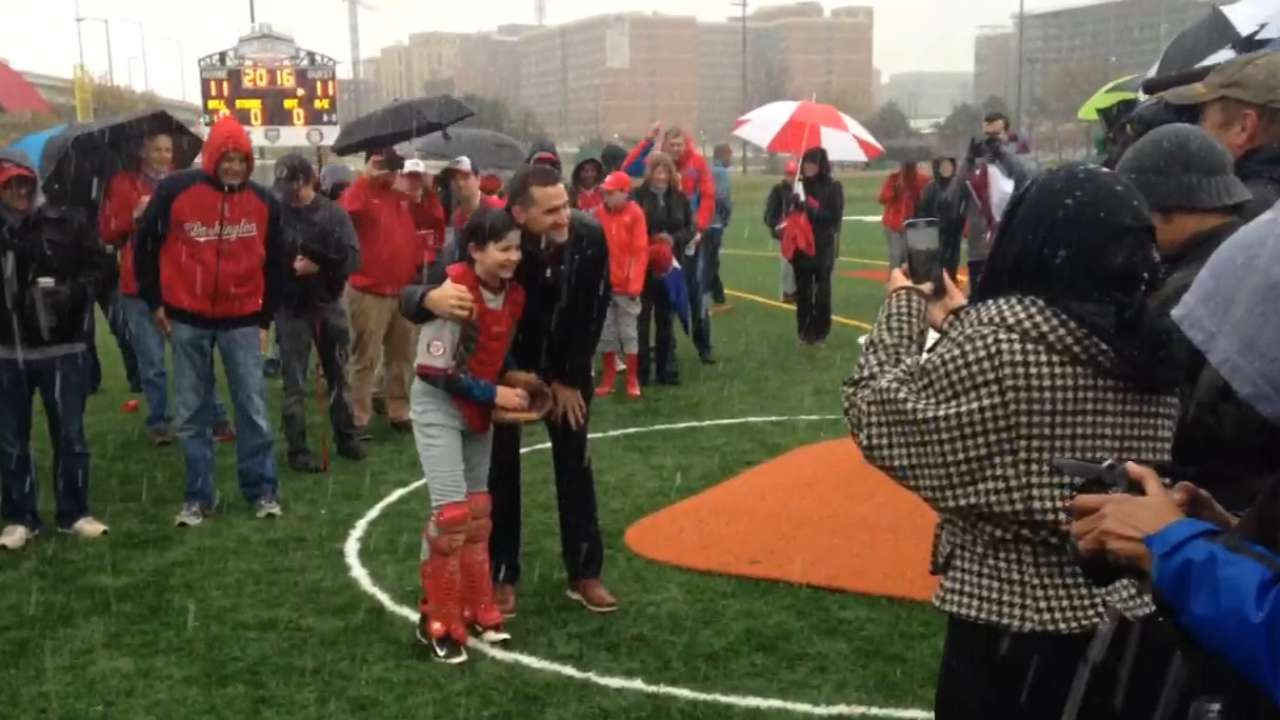 DC youth field dedicated in Zimmerman's name