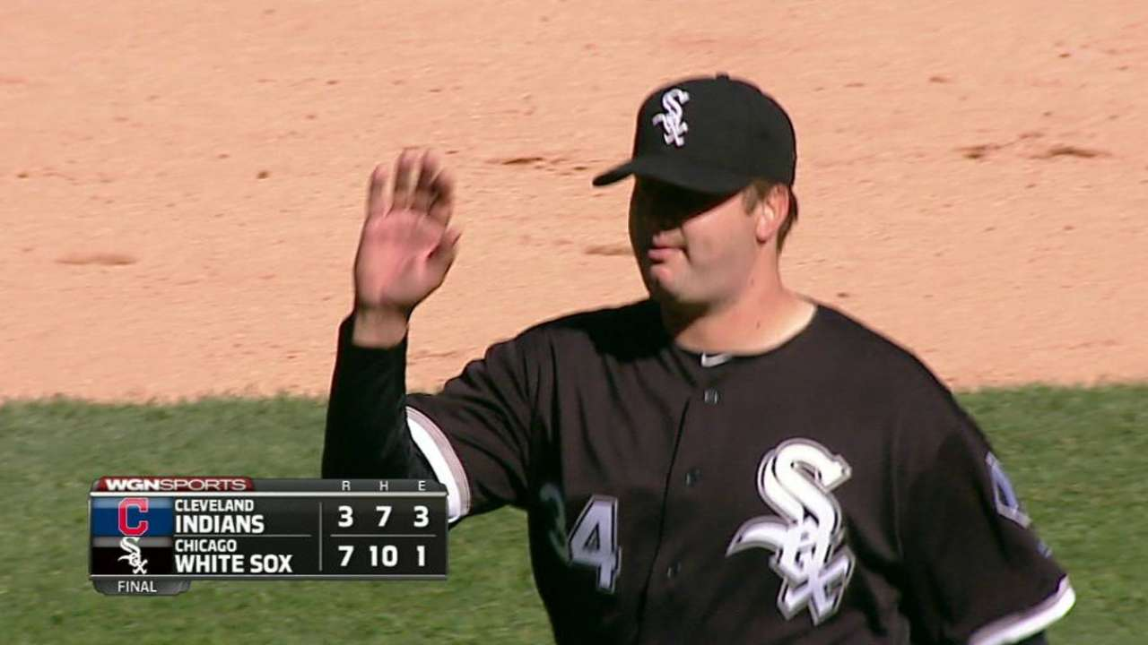 Reliever Albers proving valuable to White Sox