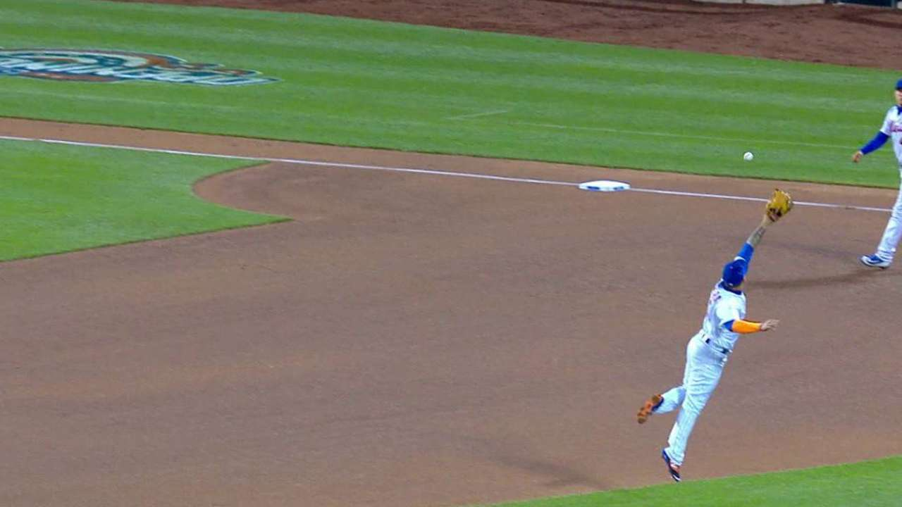 Cabrera's leaping grab