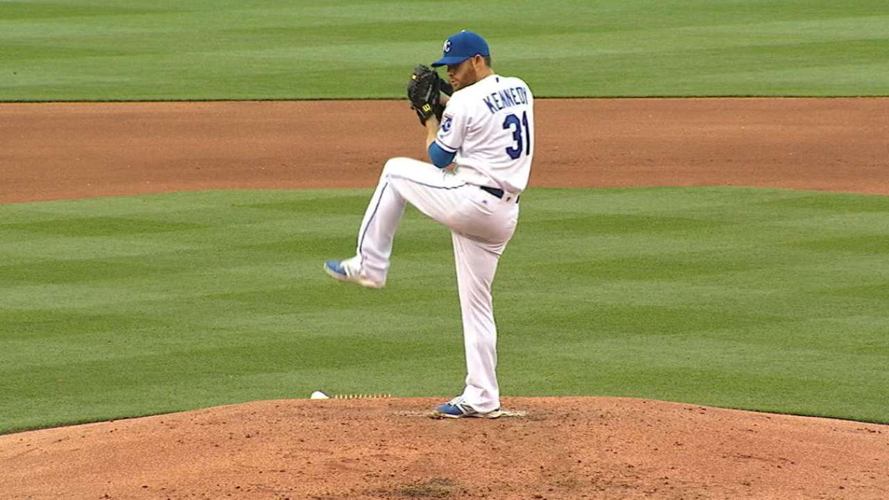 Kennedy on his game in stellar Royals debut