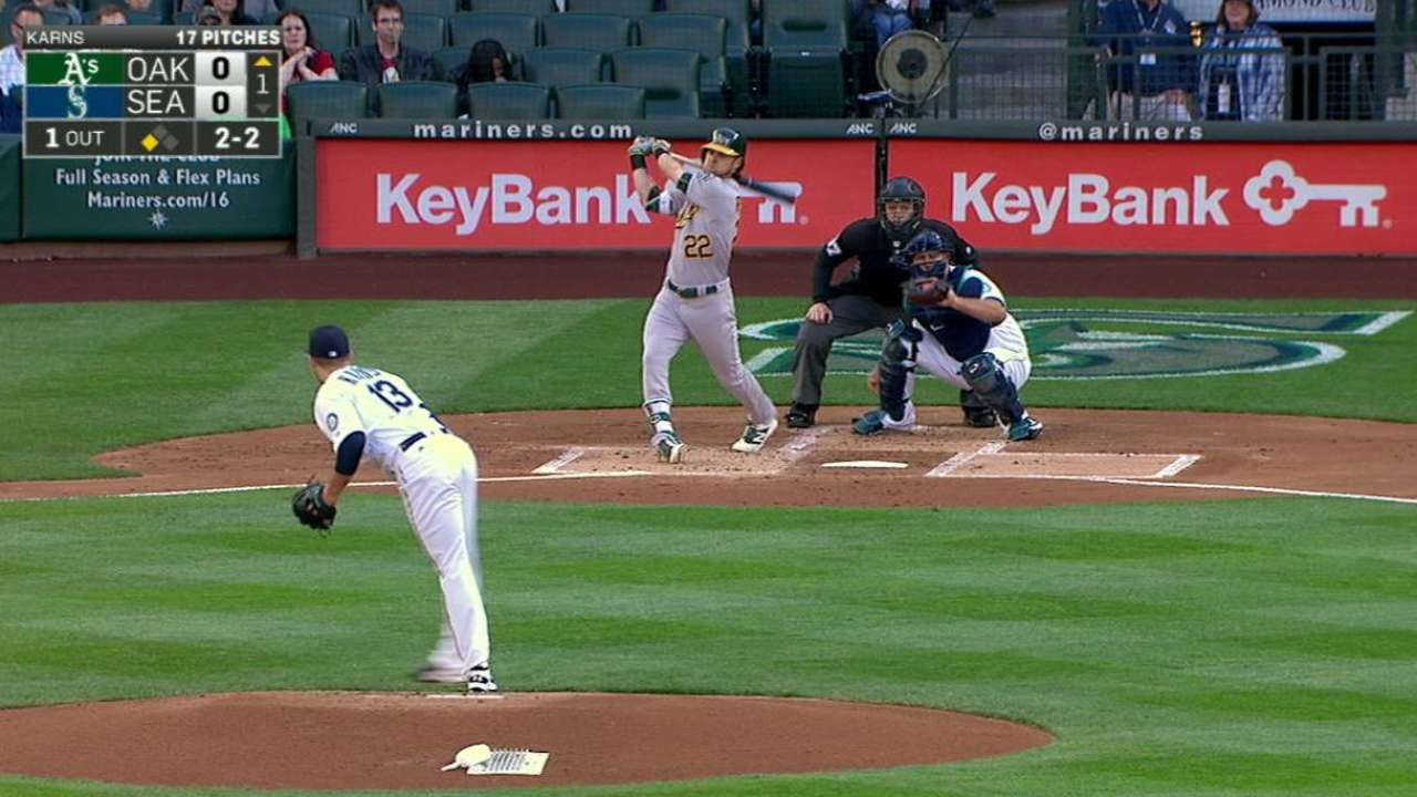 Karns wants one pitch back in uneven debut