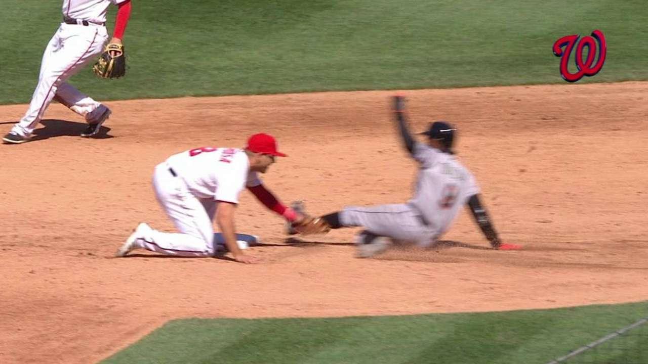 Ramos catches Gordon stealing