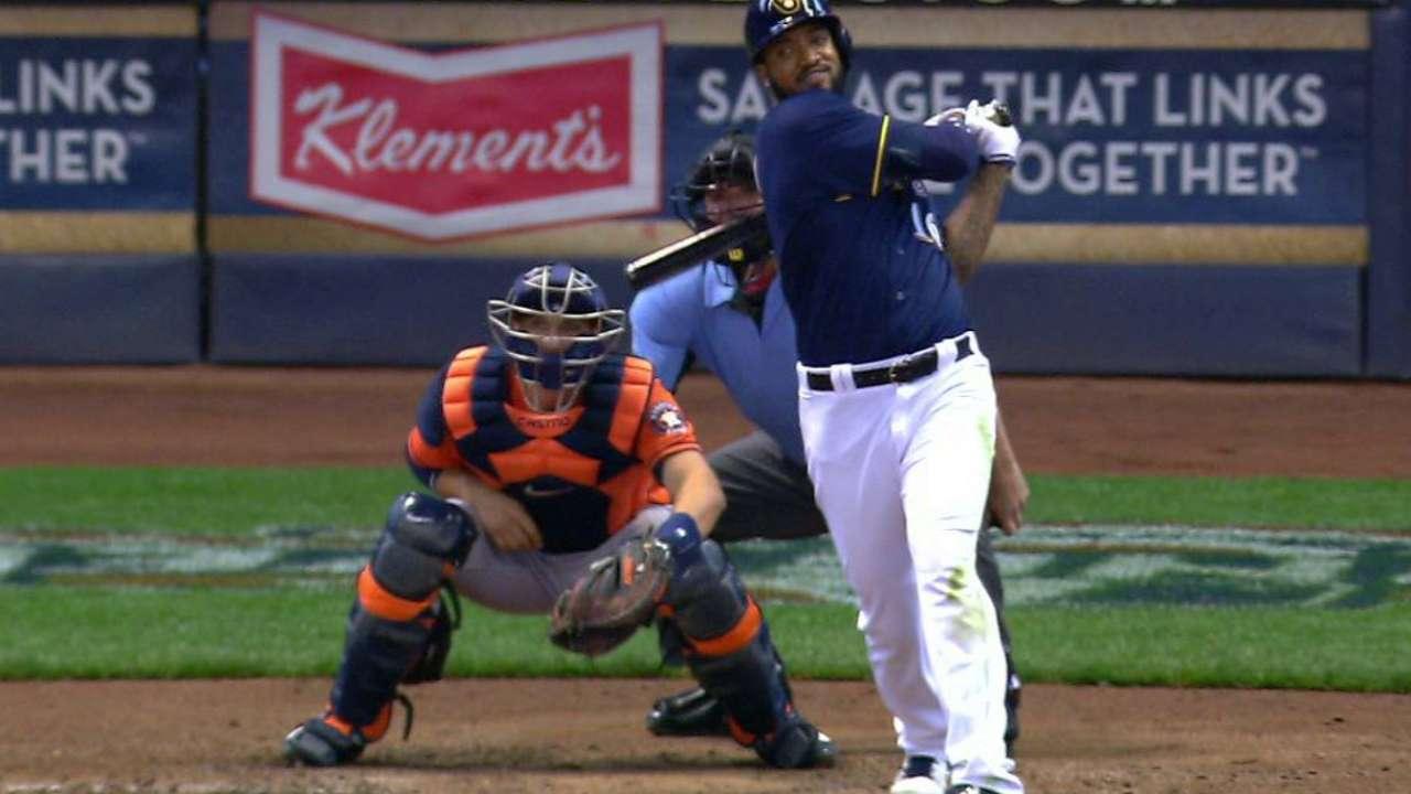 Brewers edge Keuchel, win series vs. Astros