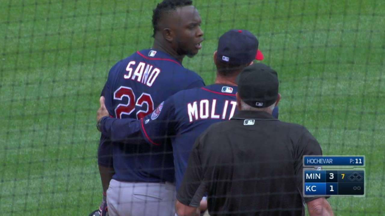 Sano gets ejected