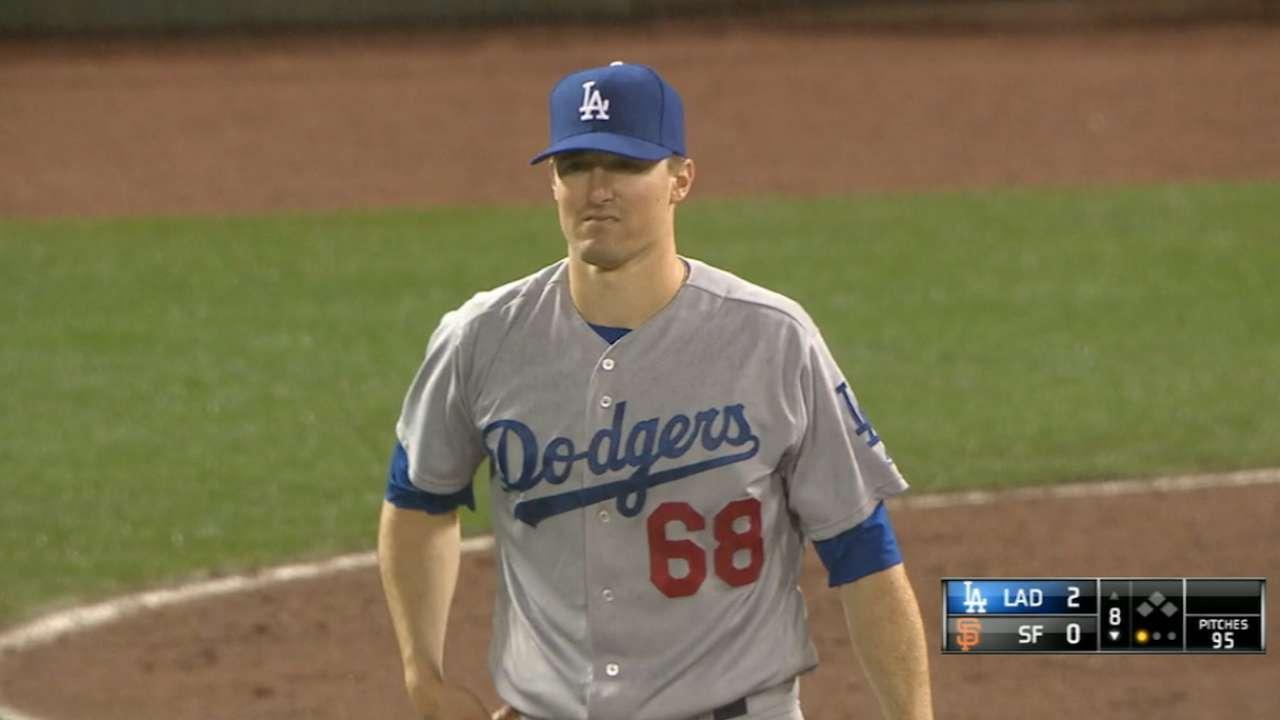 Stripling's hitless MLB debut