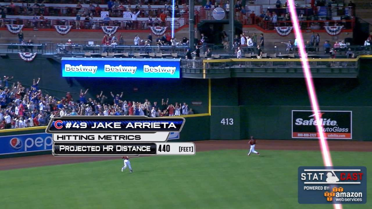 Complete package: Arrieta does it all in win over D-backs