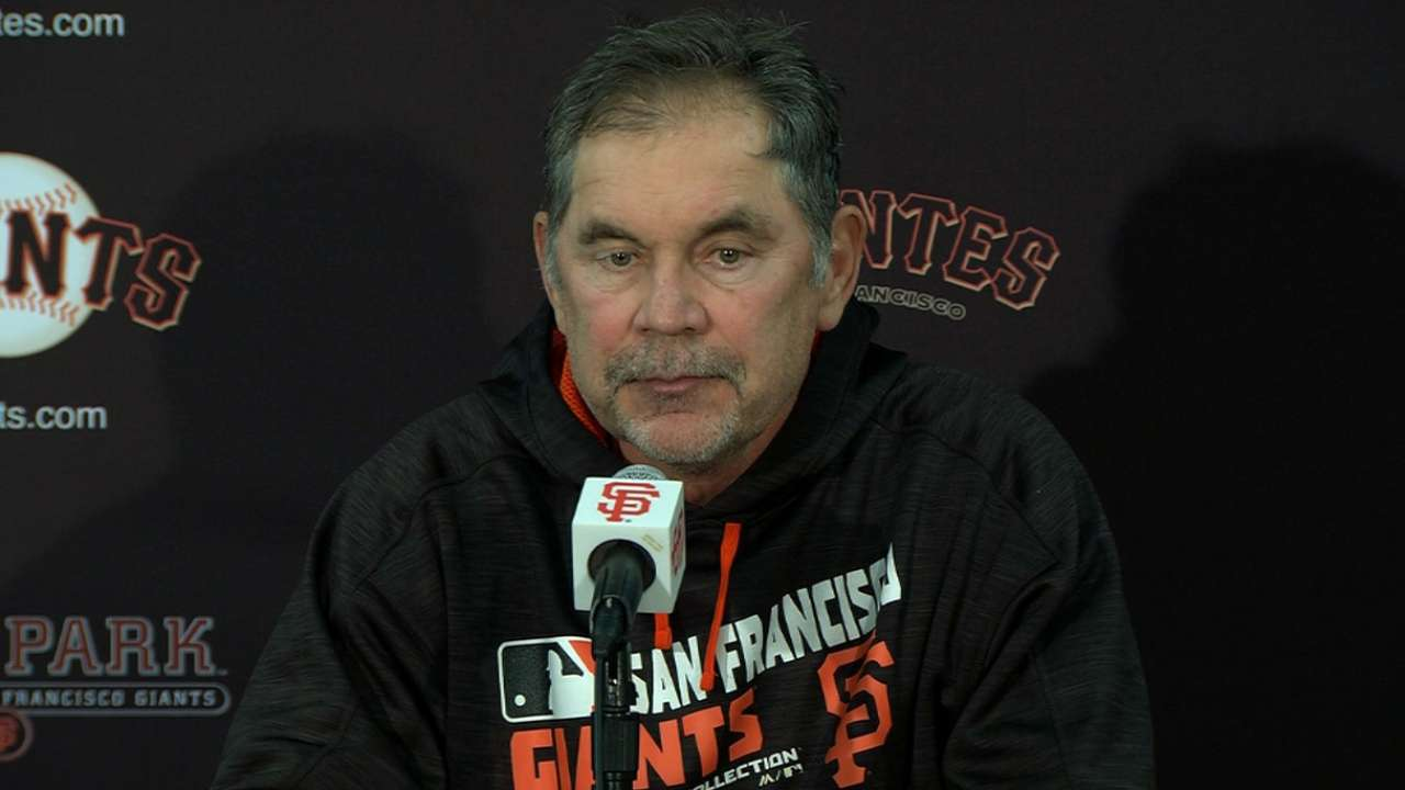Giants look ahead to 'big-time rivalry' series