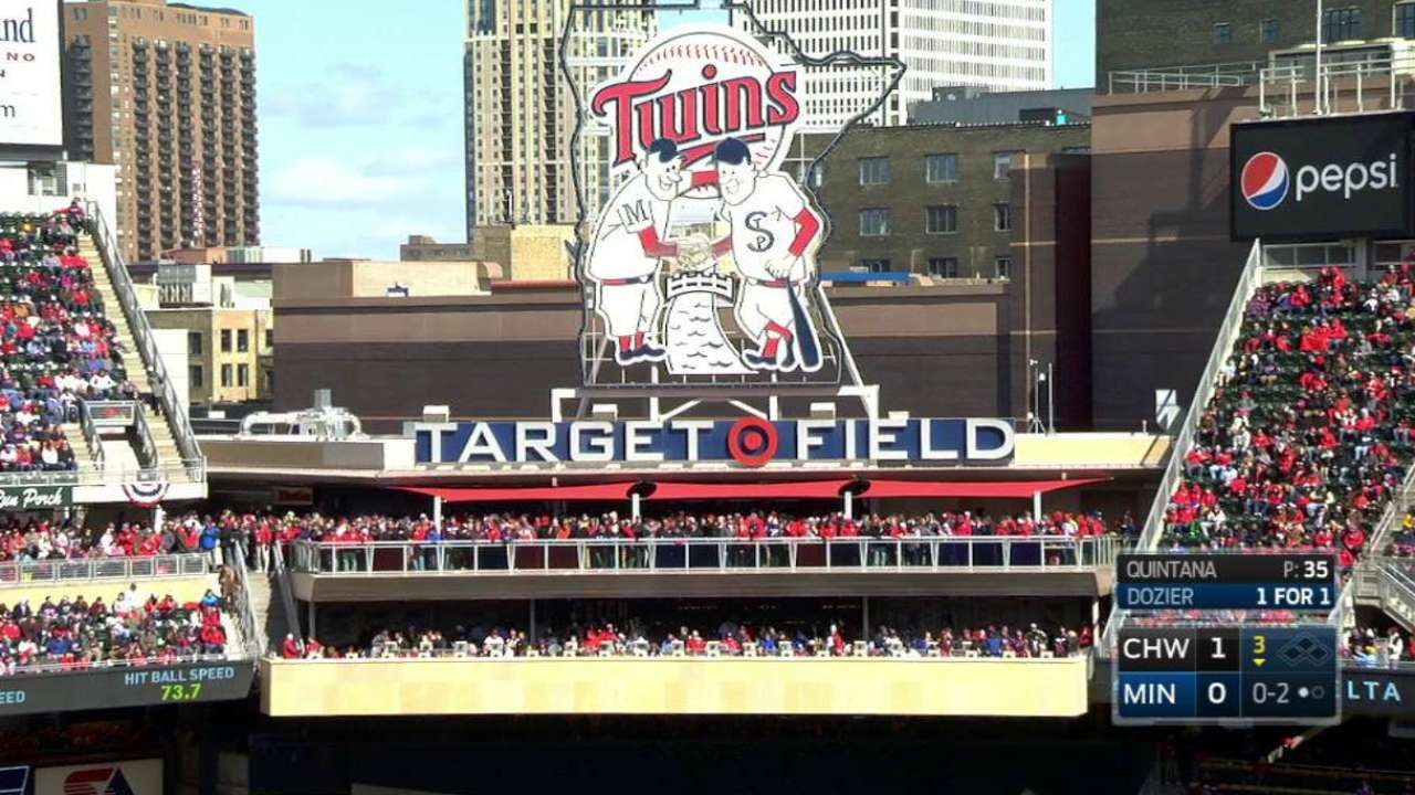 New seating at Target Field