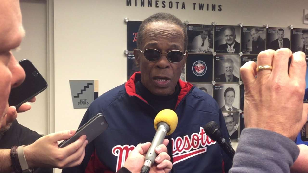 Carew on throwing first pitch