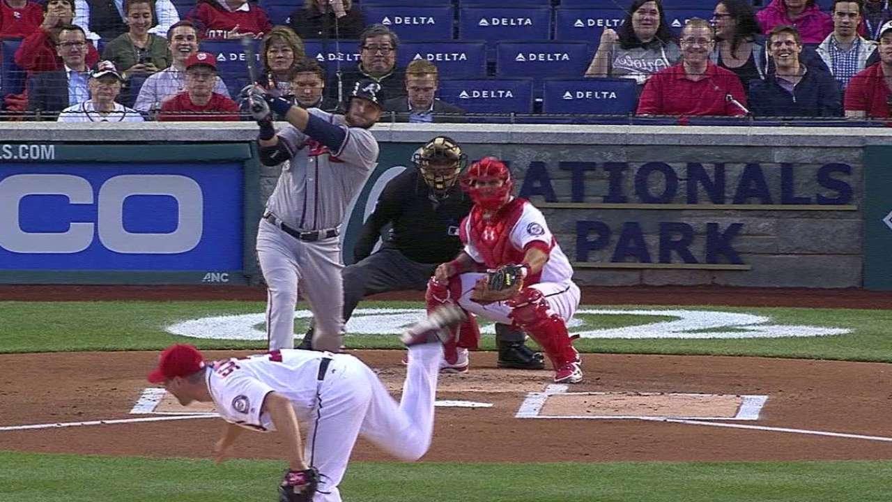 Pierzynski's two-run double