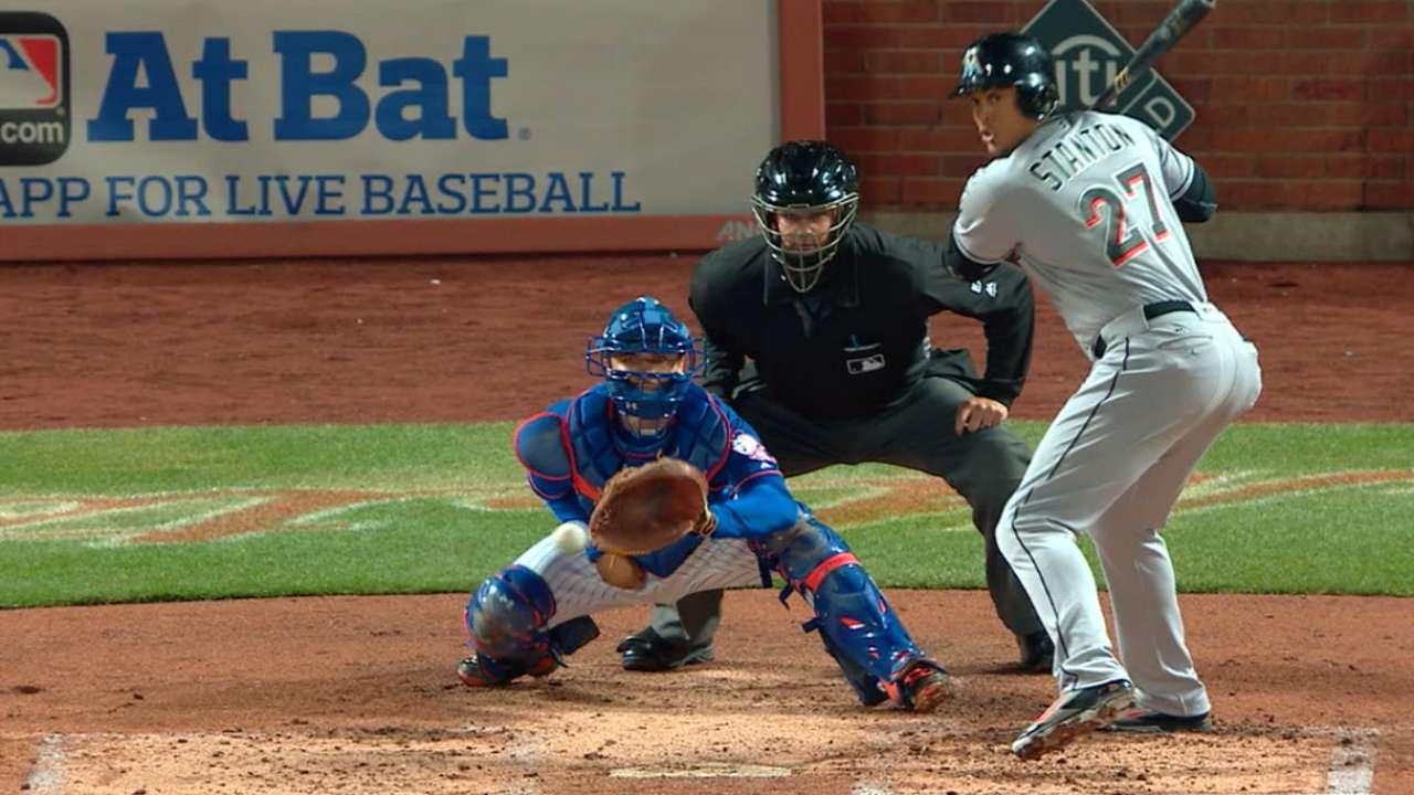Stanton's two-run blast
