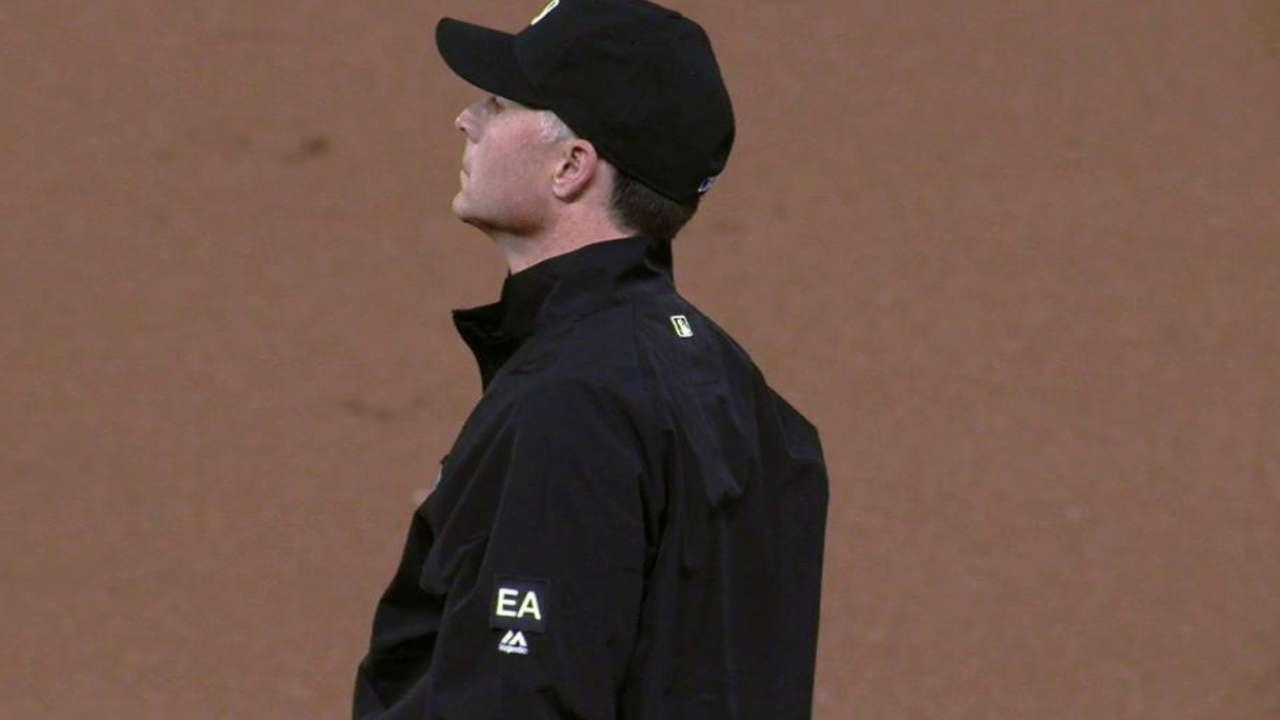 Umpires honor Emmett Ashford