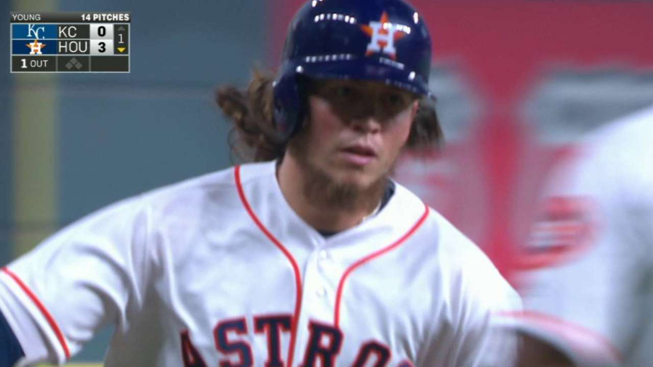 Astros handle Royals in ALDS rematch