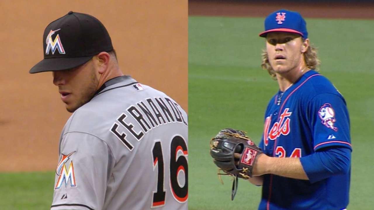 Fernandez, Syndergaard face off