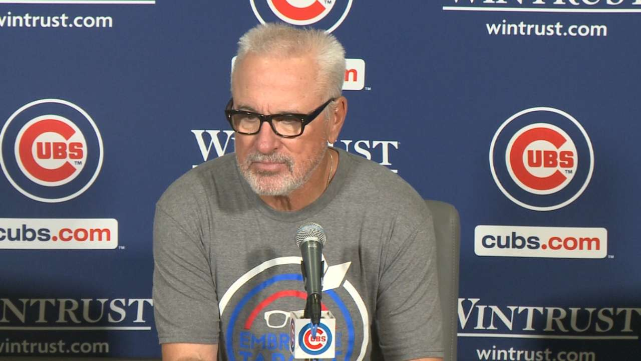 Maddon on Cubs' 5-3 win