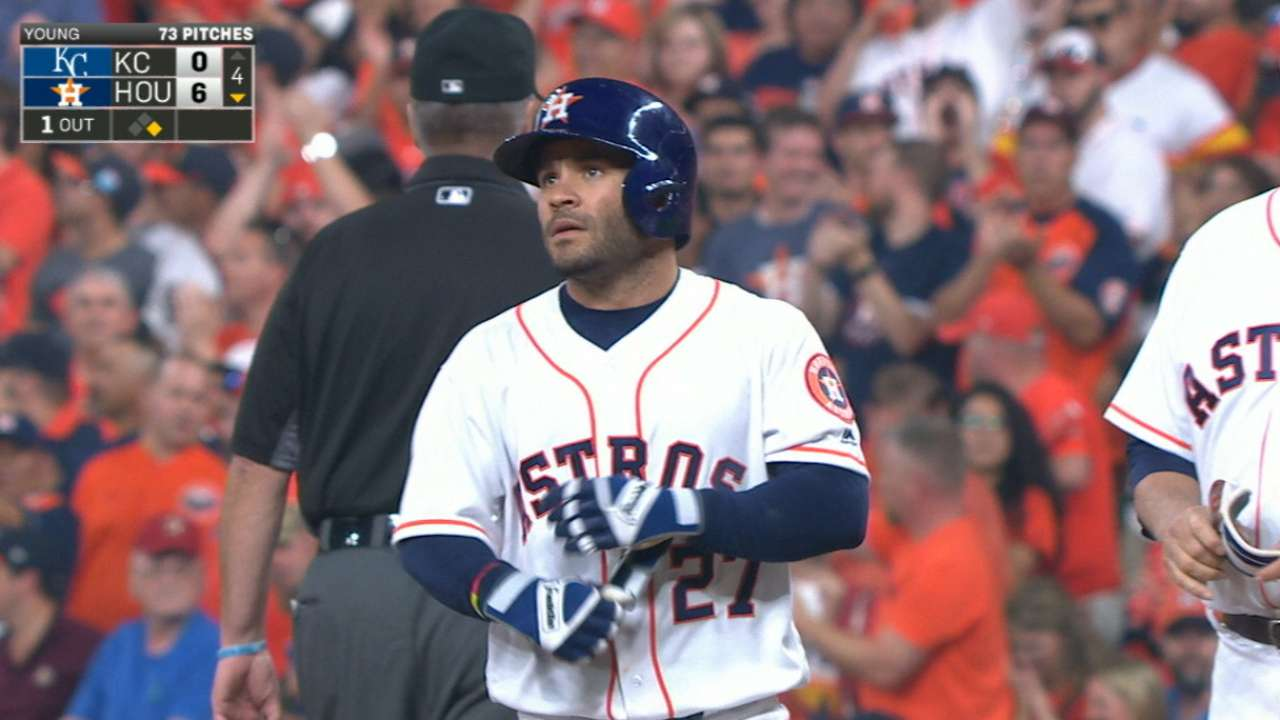 Stats of the Day: Altuve's got the swing, speed