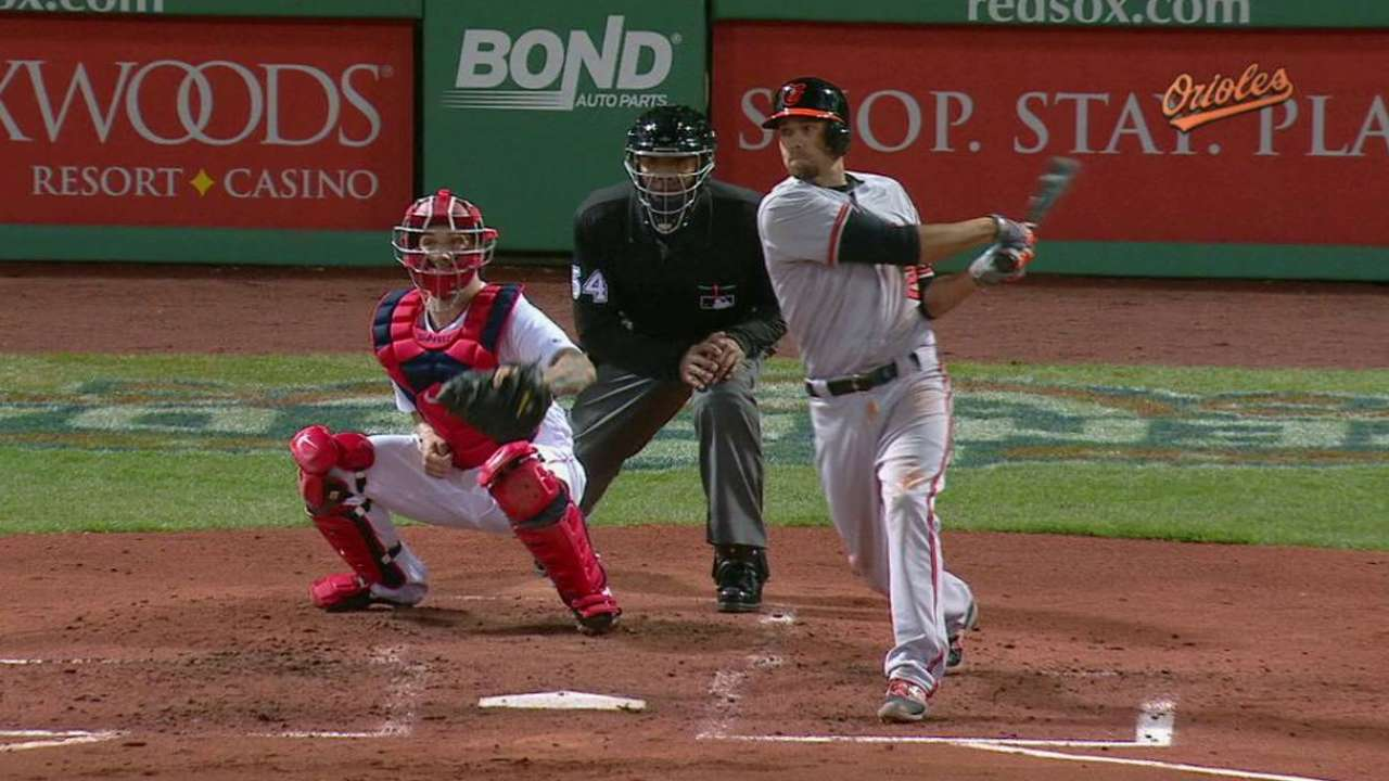 Hardy's two-run dinger