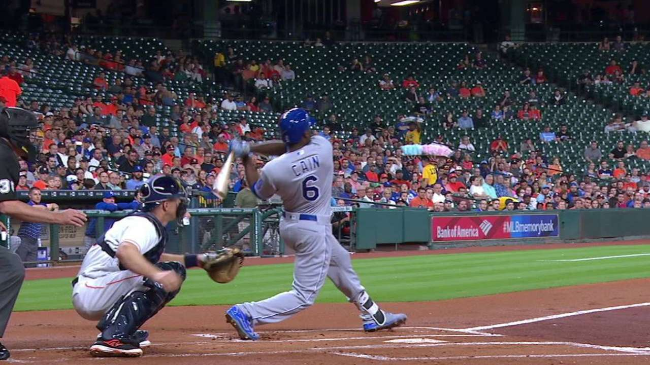 LoCain's early blast holds up in Houston