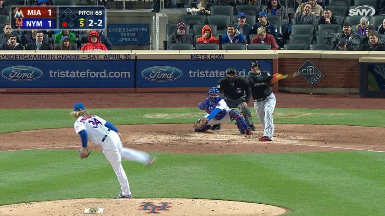 Syndergaard's 11th strikeout