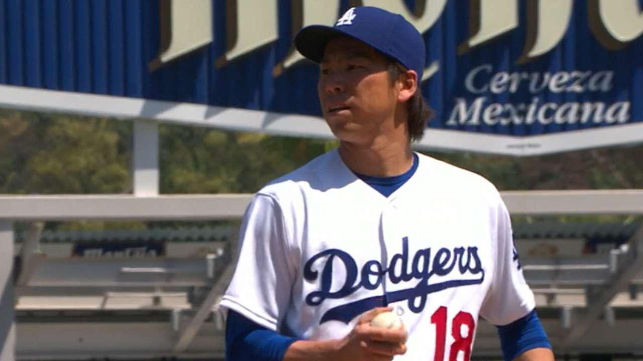 Maeda's six scoreless innings