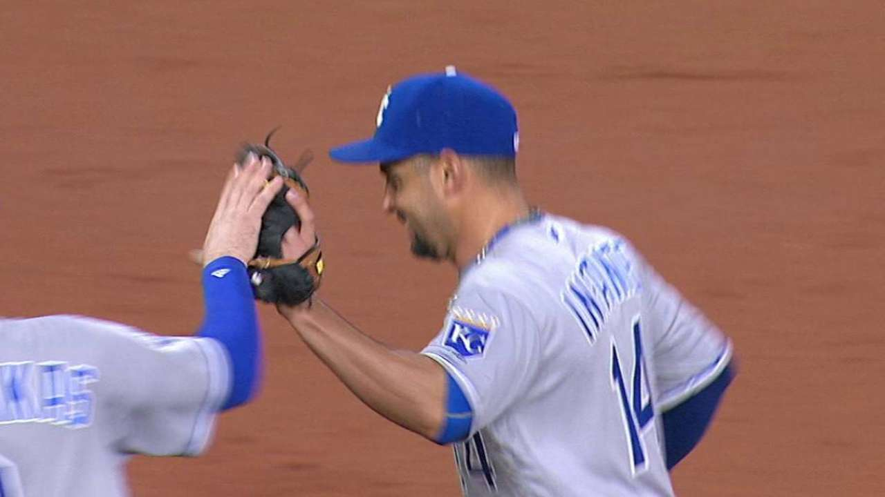 Infante's odd double play