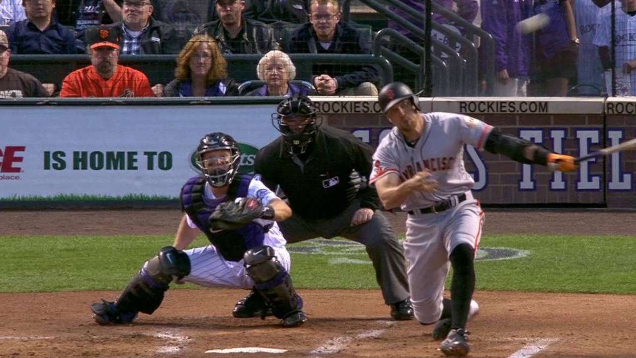 Pence's RBI single