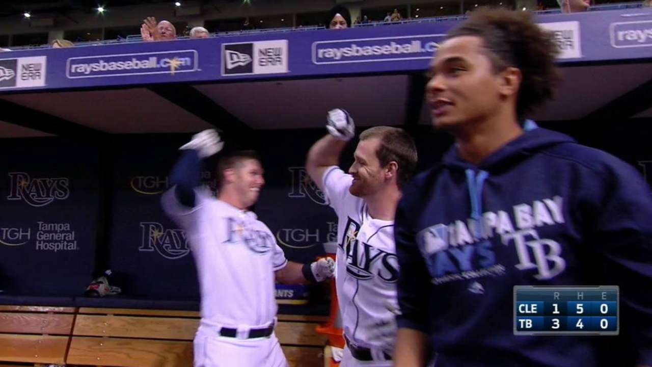Forsythe's two-run homer