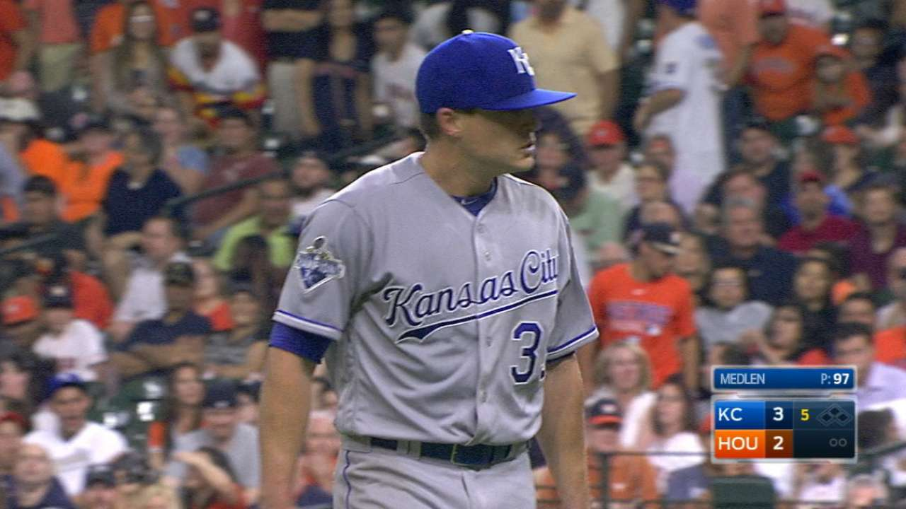 Medlen's solid outing
