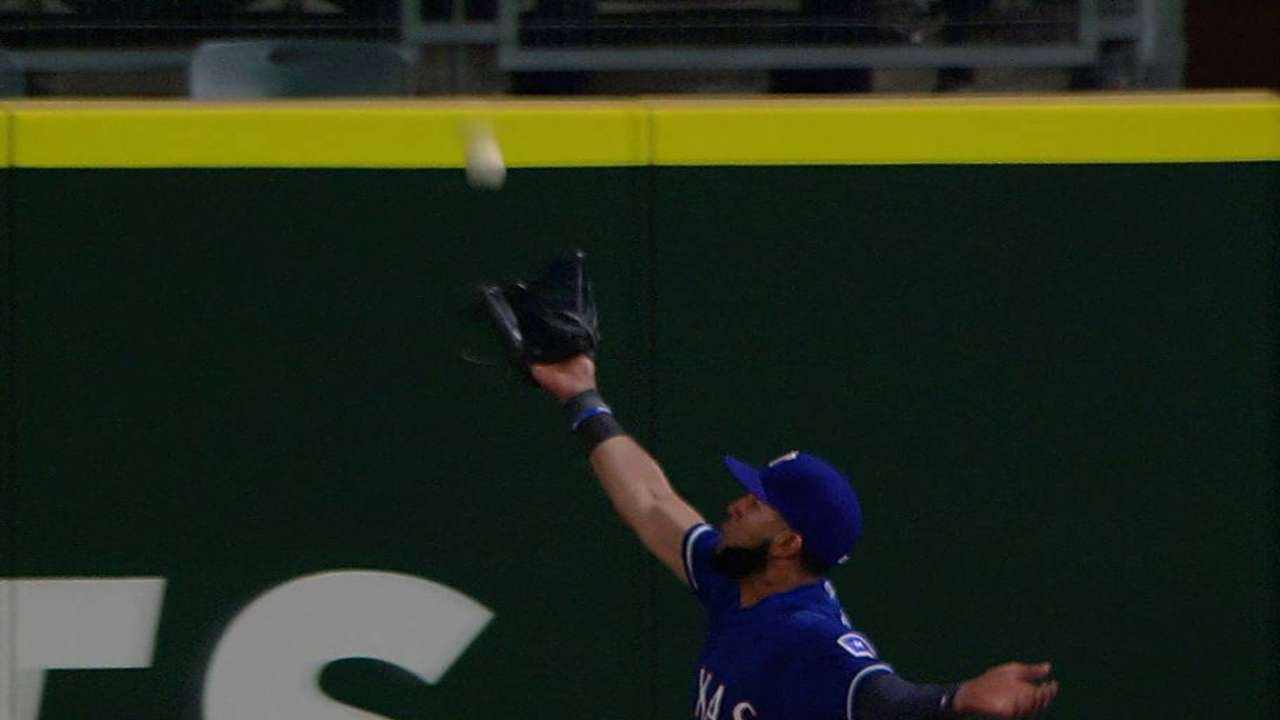 Mazara makes another great catch