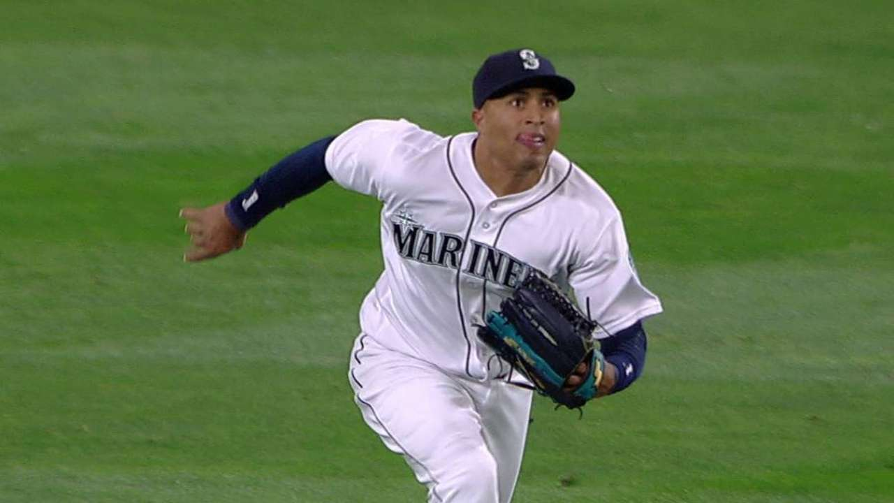 Servais impressed with Martin in Safeco's outfield