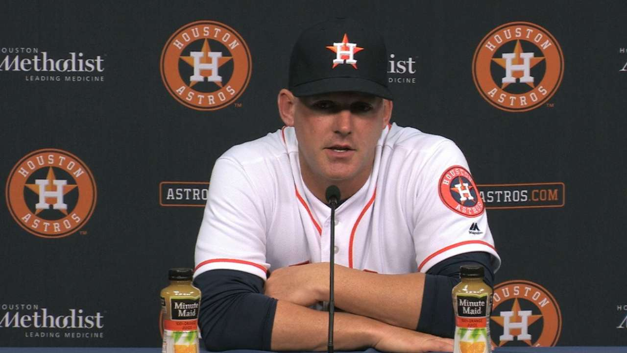 Hinch on Fiers, defense in loss