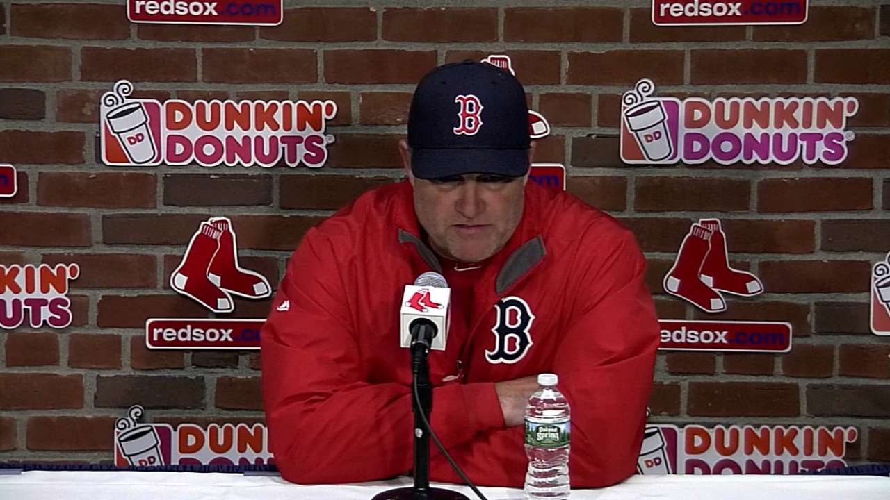 Farrell: Rotation needs to execute better