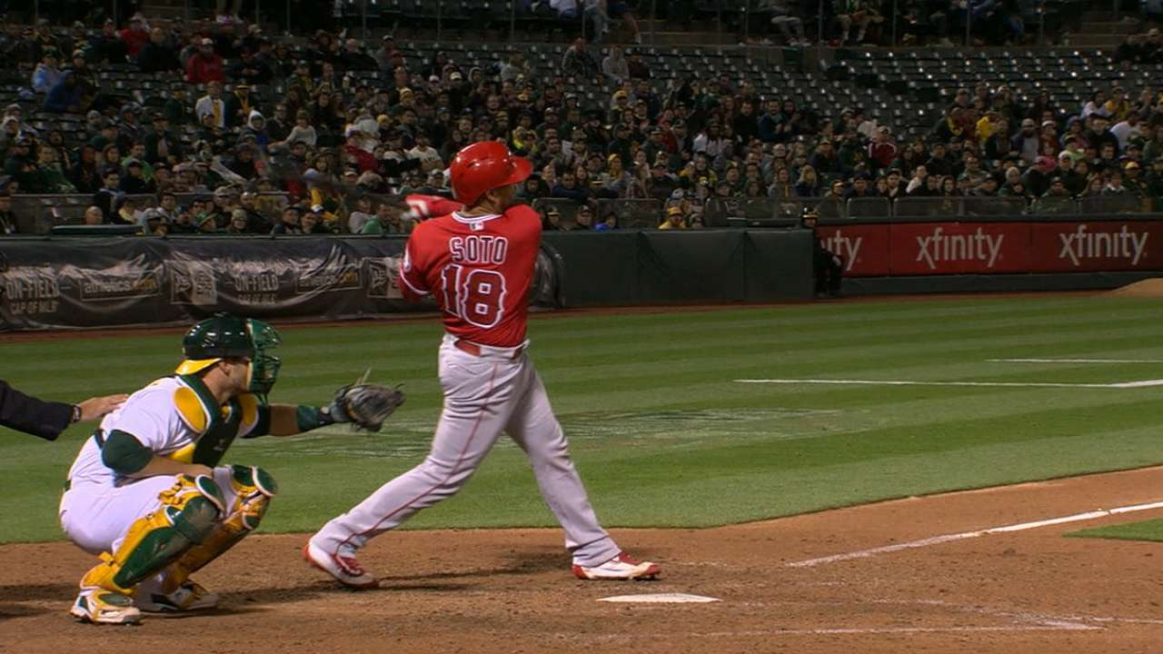 Must C: Soto puts Halos on top