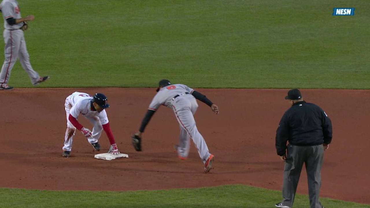 Red Sox finding success in running game