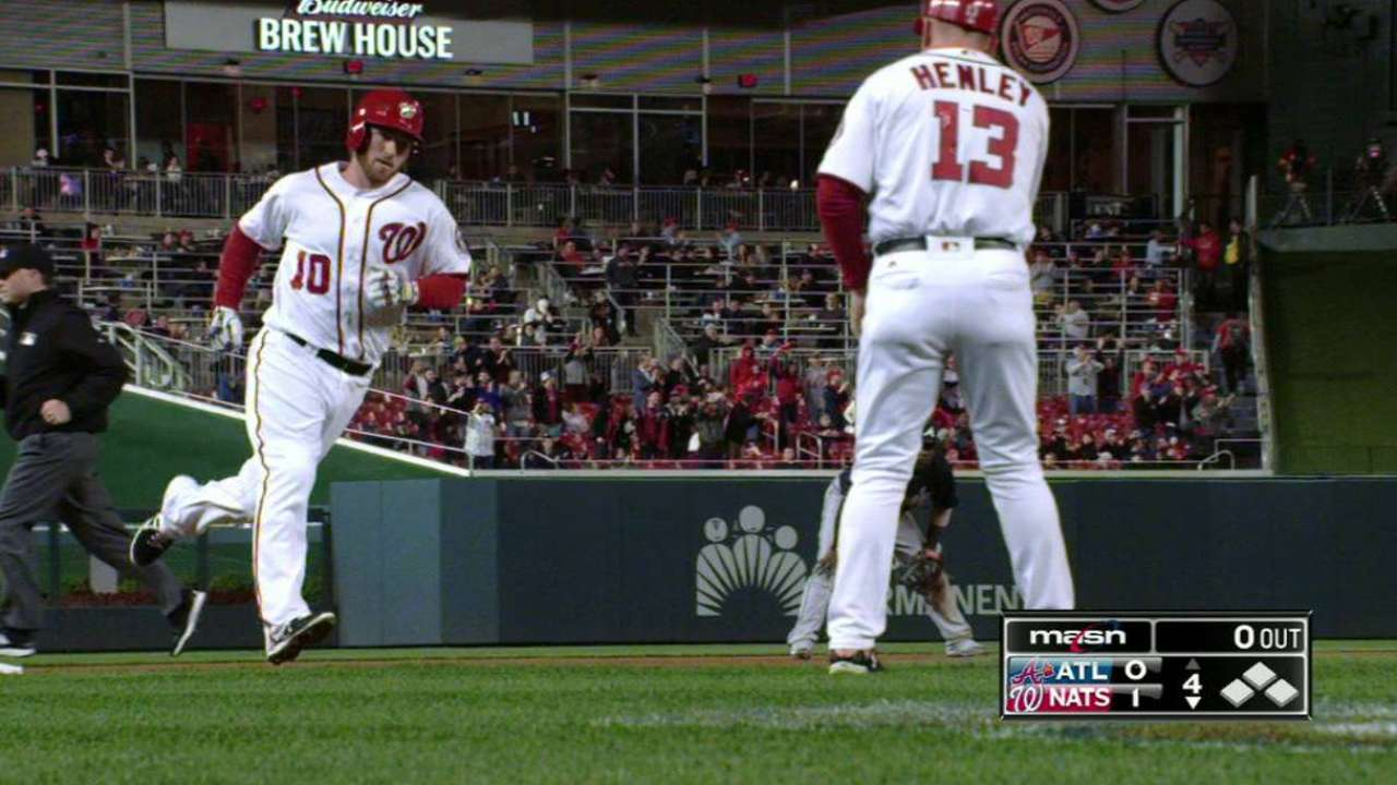 Drew makes the most of first start with Nats