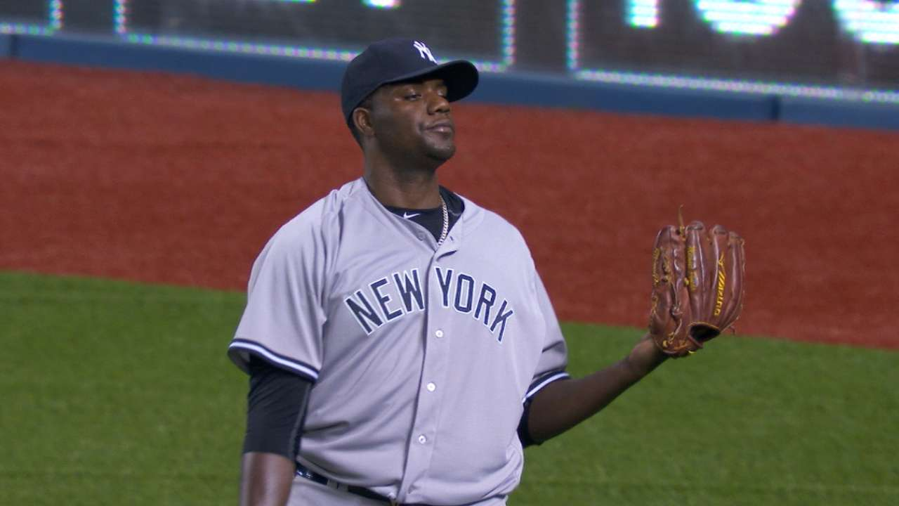 Pineda's six solid innings