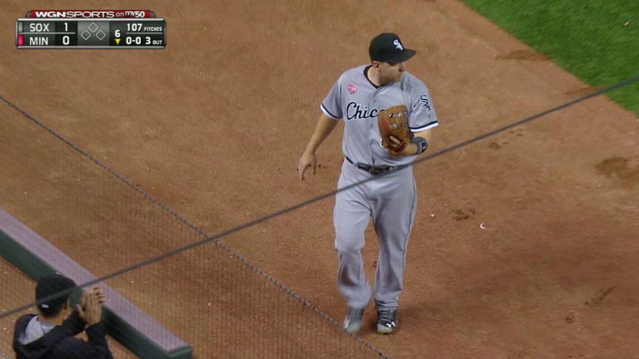 Rodon escapes bases-loaded jam